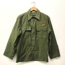 NOS OG107 / Fatigue Shirt, Size SMALL US Army 1960's  B-79