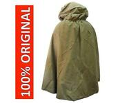 Military Russian Army Soviet Soldiers Cloak Tent Poncho Hooded Rain Coat USSR