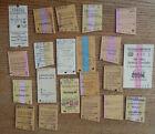 Fahrkarte, Konvolut, 21 Stück, zumeist Bayern