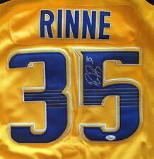 PEKKA RINNE Autographed JERSEY JSA/COA  SIGNED NHL AUTO Nashville Predators Wow