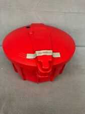 Cooks Essentials Microwave Pressure Cooker Red QVC K40490 New
