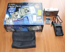 FOTOCAMERA DIGITALE KONIKA REVIO KD-400Z - SCATOLA ORIGINALE+SD 2GB