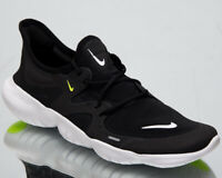 Nike Free RN 5.0 Men's New Black White Volt Sneakers Running Shoes AQ1289-003