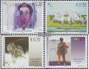 kosovo 143-146 (complete issue) unmounted mint / never hinged 2009 visual Art