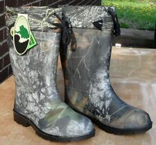 NEW OZARK TRAIL MENS SIZE 8 CAMO WATERPROOF INSULATED WINTER HUNTING SNOW BOOTS!