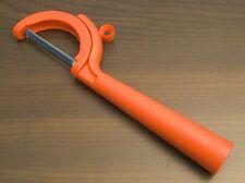 Tupperware Schälfix Schäler mit schwenkbaren Schälkopf Rot Neu