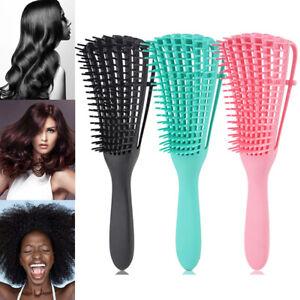 Unisex The EZ Detangler Brush- Anti-Static Scalp Comb Hair Brush Styling Tools