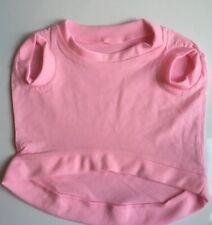 Dog T Shirt Pink Pet Clothing Small Dog  - NEW