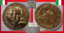 OLYMPISCHE SPIELE VII. OLYMPIC WINTER GAMES MEDAL Ø 50mm * CORTINA 1956 - ITALIA