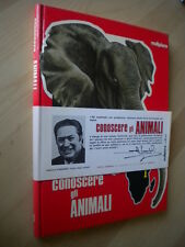Conoscere gli animali Africa 1LombardiMalipiero1974Libro Book  bambini Nuovo