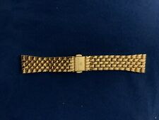 Gold Little Link 18 mm Wristology Quick Release Watch Band