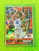 JAMES WISEMAN RED PRIZM ROOKIE CARD CRACKED ICE SP RC GOLDEN STATE WARRIORS 2020