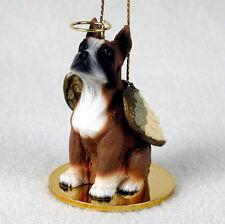 Boxer Dog Figurine Angel Statue