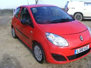 2010 RENAULT TWINGO FREEWAY 3 DOOR SALVAGE DAMAGED REPAIRABLE