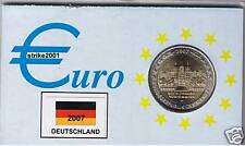 2 EURO COMMEMORATIVO GERMANIA 2007 FDC Schwerin