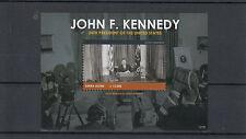 Sierra Leone 2012 MNH John F. Kennedy cinquantesimo anniv commemorativa IV foglio presidente JFK