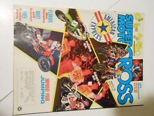 MARCH 1989 SUPER MOTOCROSS MAGAZINE,500 SHOUTOUT,STANTON,PARIS