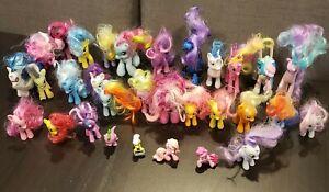 My Little Pony figures - Lot of 31 ponies