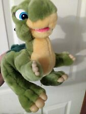 "Ducky Dinosaur Plush Toy The Land Before Time J.C. Penny 1988 10"" rare plushie"