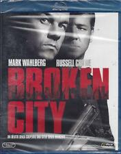 Blu-ray Disc **BROKEN CITY** con Mark Wahlberg Russell Crowe nuovo 2013