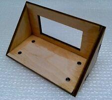"Laser Cut 1/8"" Birch Plywood 90 Deg 1/2 Standard STD Servo Box/Tray, U-Assemble"