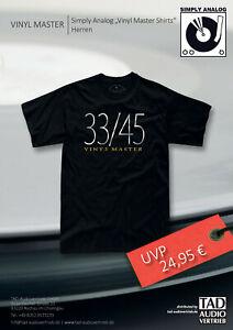 Vinyl Master - T-Shirt - 33/45 - Herren