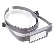 Donegan Gray OptiSight® Binocular Magnifying Visor Set w/3, 4, & 5 Power Lenses