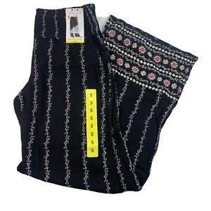 Three Dots Women's Size S Pull On Pants Comfort Waistband Flattering Wide Leg