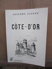 Adolphe Joanne/ Côte-D'or/ Lacour/Rediviva, 1993