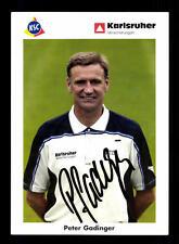 Peter Gadinger Autogrammkarte Karlsruher SC 2002-03 Original Signiert+A 159726