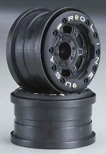 "1:16 Titus 2.2"" Bead-Loc Black F/R Wheel  Pro-Line Racing PRO2713-15"