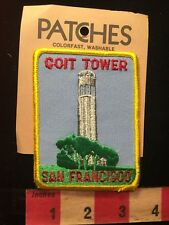 Vtg SAN FRANCISCO COIT TOWER California Patch By Holms Patches Architecture 81D7