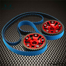For 93-01 Honda Prelude H22 DOHC VTEC Adjustable Cam Gears +Timing Belt Kit