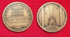 Médaille de la Chambre des Métiers de la Seine inférieure, 1925