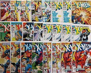 The Uncanny X-Men (1963) #261-299 SIGNED Portacio Green Claremont Sienkiewicz