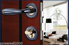 WS Western Style Contracted Black Gold Double Lock Tongue Type Indoor Locks