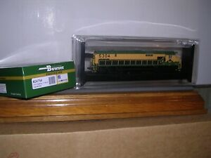 """BOWSER #24754  Reading C-630 Diesel Loco #5304 """"Green & Yellow"""" w/DCC & Sound"""