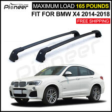 Fit for BMW X4 F26 2014-2017 Baggage Luggage  Roof Rail Racks Cross Bar Cossbars