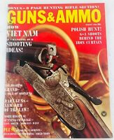 Vintage GUNS & AMMO Magazine August 1966 How Vietnam is Changing Our Shooting