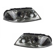 For VW Passat Mk4 2000-2005 Headlights Headlamps 1 Pair O/s And N/s