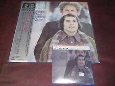 SIMON & GARFUNKEL BRIDGE OVER TROUBLED WATER JAPAN OBI REPLICA CD & VINYL LP SET
