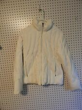 Womens Apt. 9 down winter jacket - off white - small
