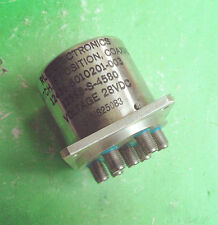 1pc Rlc 12598-S-4580 28V 18Ghz 1 into 6 Sma Rf coaxial switch