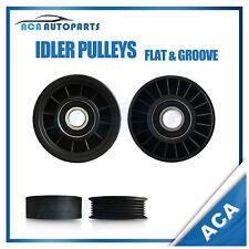 Drive Belt Idler Pulley Set For Holden Berlina VX VY 6cyl V6 3.8ltr 2000-2004