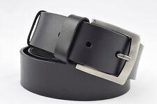 Auténtico Grano Completo VACA Cinturón de cuero 38mm Ancho Todas Las Tallas