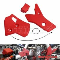 Red Frame Guard Master Cylinder Protector Cover For Honda CRF250L/M/Rally 12-17