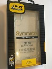 iPhone X OtterBox Symmetry Case - Clear 77-57120 Brand New & Sealed in packaging