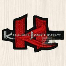 Killer Instinct Embroidered Big Patch Logo Arcade Videogame Nintendo Fighter NES