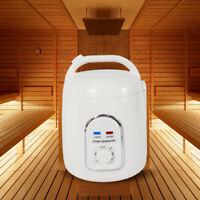 Portable Bath Heater 1.8L Sauna Steam Bath Generator Body Therapy Detox Machine