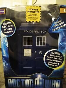 Dr Who 11th Dr  TARDIS Electronic flight control Tardis boxed - unused - new.